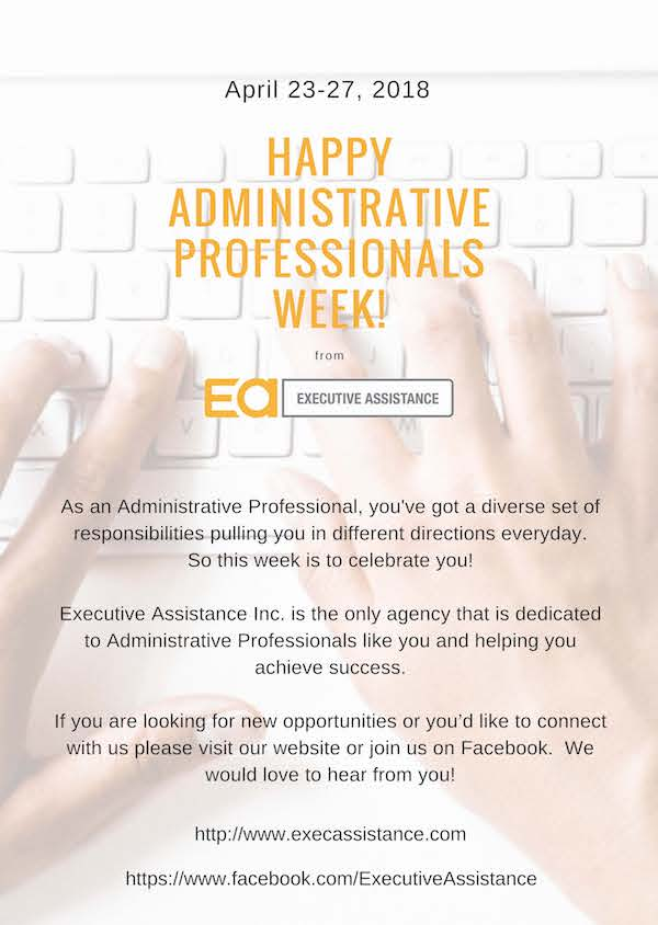Admin Professionals Week 2018 (1)